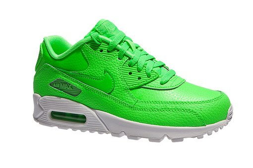 "Air Max 90 Leather (GS) ""Voltage Green"" (724821-300)"