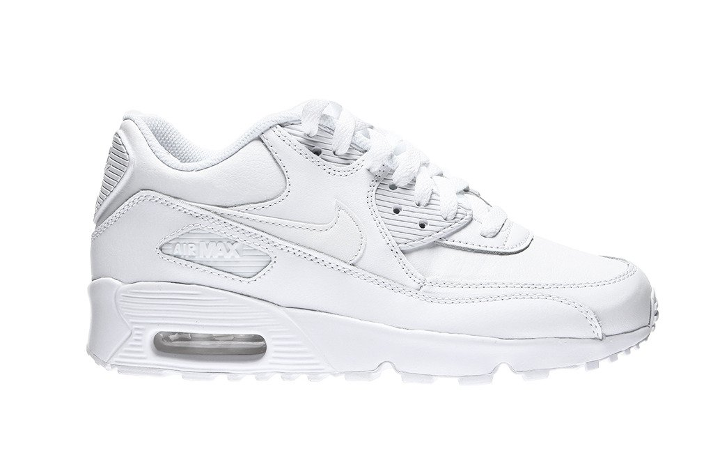brand new fb2fe ba008 ... Air Max 90 Leather (GS) (833412-100) ...