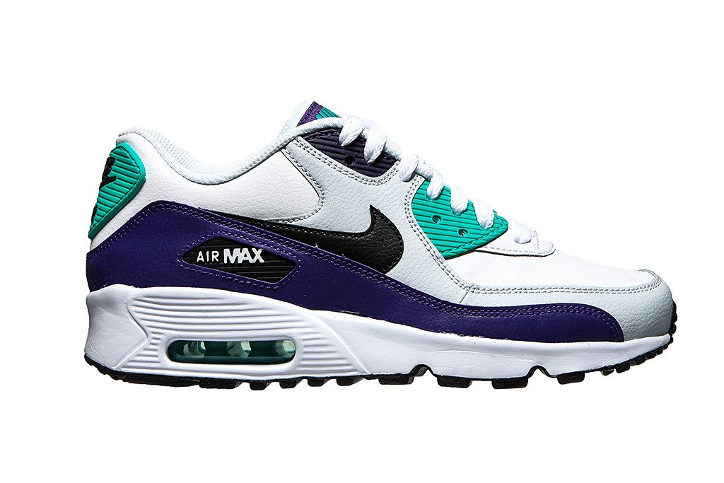 official photos f1238 d620a ... Air Max 90 Leather (GS) 833412-115) ...