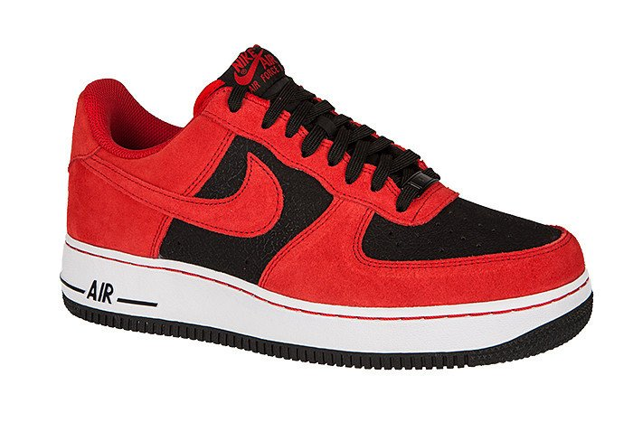 air force 1 czerwono biale