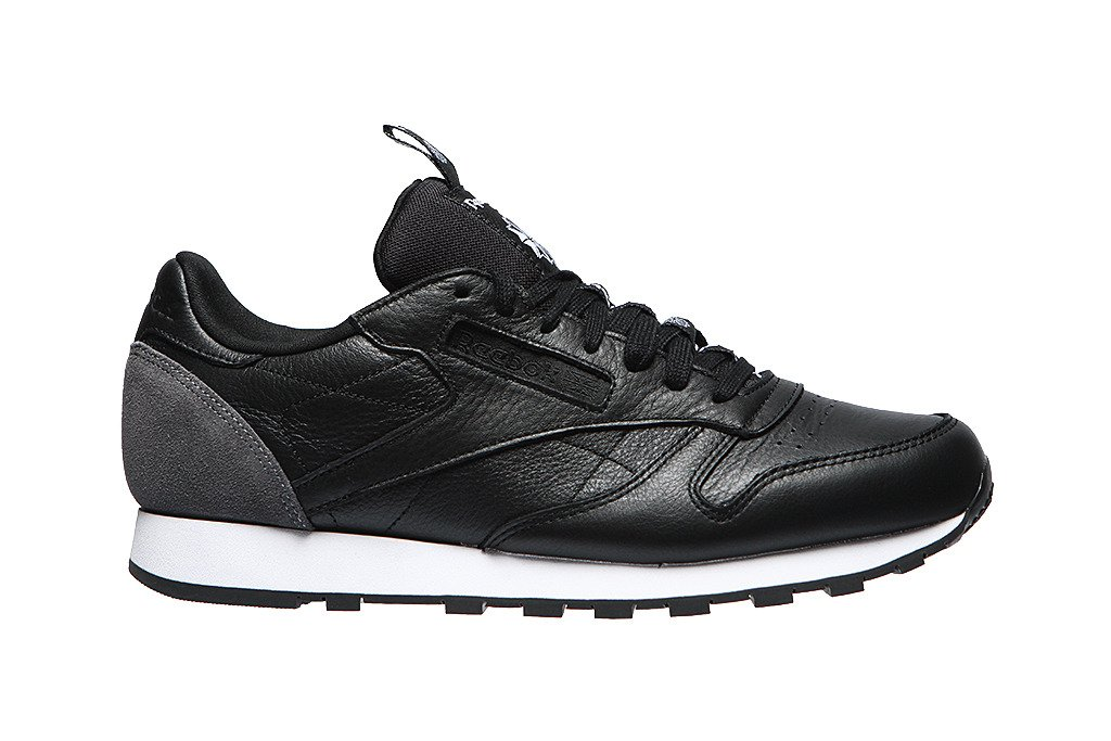 3d51101c Męskie sneakersy reebok Classic Leather It BS6210 Czarny | MARKI ...