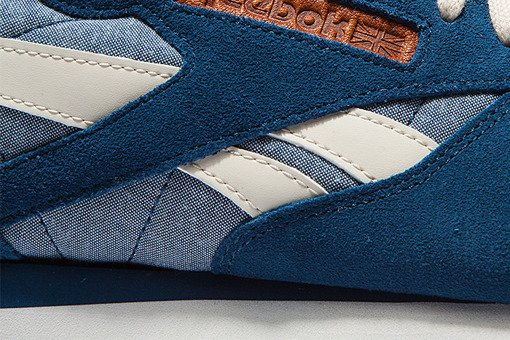 "Buty Reebok Classic Leather CH ""Blue White"" (M45454)"