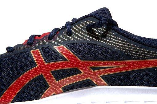 Buty do biegania asics Patriot 11 1011A568-402 granat